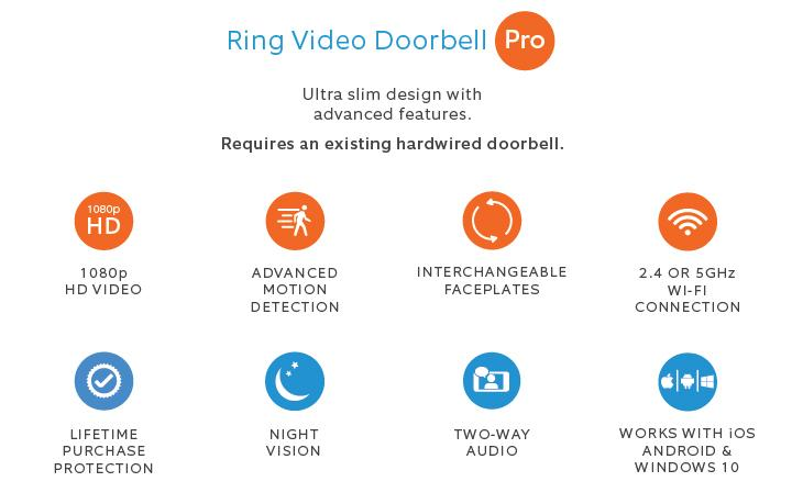 Ring Pro Features